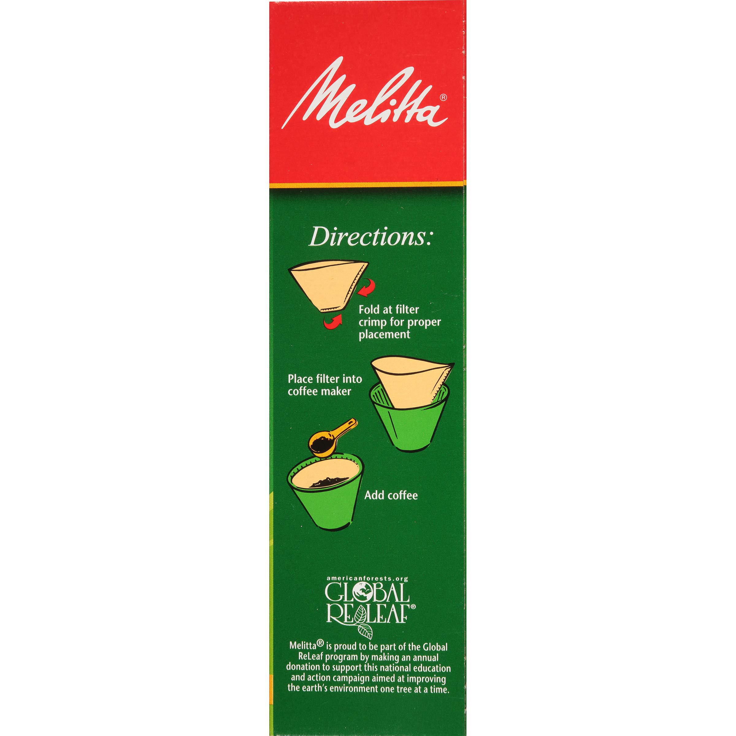 Melitta (62445C) Super Premium No. 4 Cone Coffee Filters, Natural Brown, 100 Count (Pack of 6) by Melitta (Image #5)