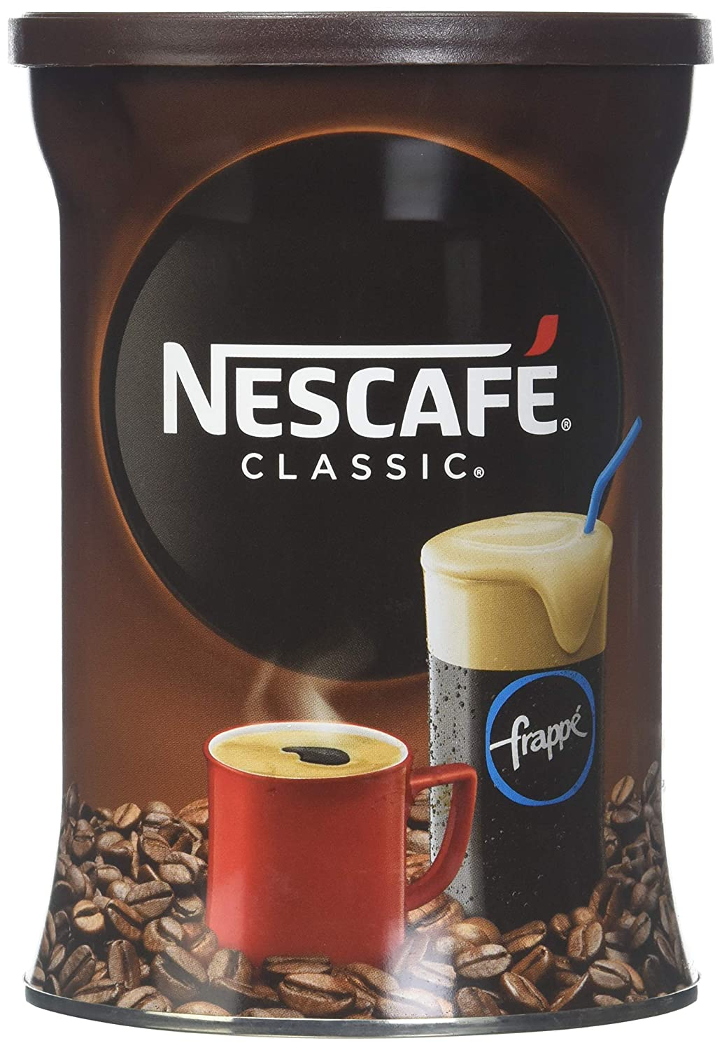 Nescafe Classic Instant Greek Coffee, 7.08 Ounce (Pack of 2) SYNCHKG097997