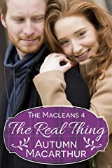 The Real Thing: A sweet and clean Christian romance set in Scotland (The Macleans Book 4) Kindle Edition