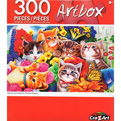 Artbox Playtime in The Garden by Chanelle - 300 Piece Jigsaw Puzzle: Toys & Games [5Bkhe1104047]
