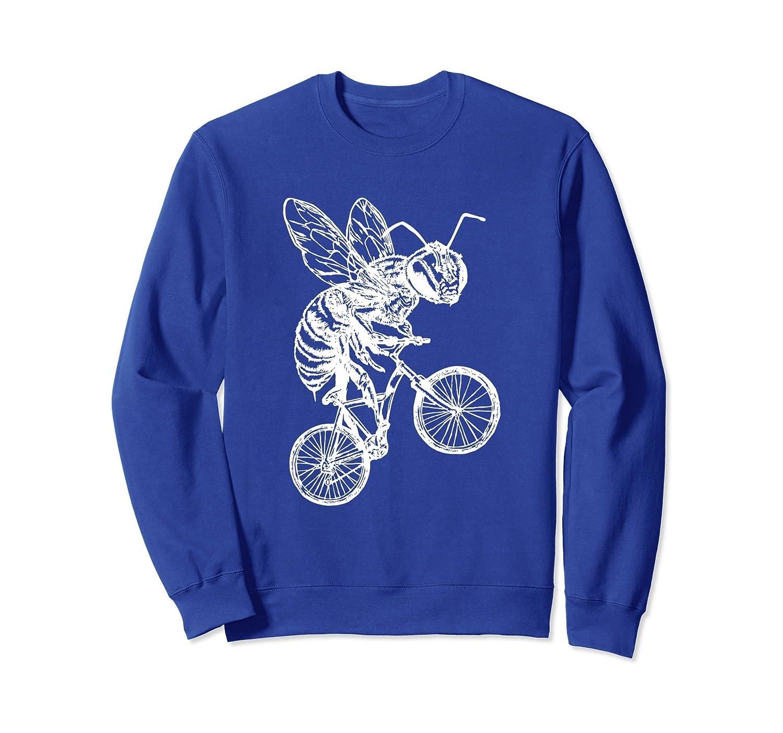 SEEMBO Bee On A Bicycle Cycling Sweatshirt Cyclist Gift Bike-AZP