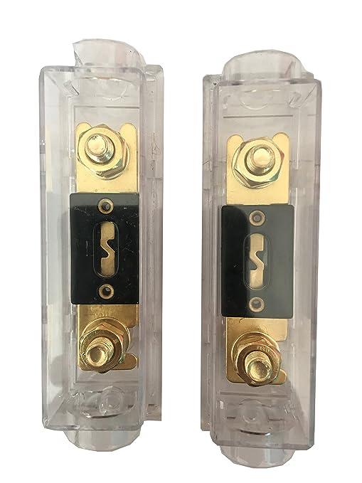 ANL Fuse Holder 1 Pack KOLACEN ANL Gold Plated Fuse 100 Amp