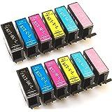 エプソン用 KUI 互換 (クマノミ 互換) インクカートリッジ6色セットx2 全12本 インク増量サイズ 対応機種:EP-879AB / 879AW / 879AR / 880AW / 880AB / 880AR / 880AN ヨコハマトナーオリジナル