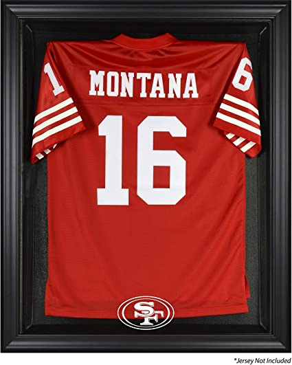 sports shoes e29d9 ee7d8 Mounted Memories San Francisco 49ers Jersey Display Case