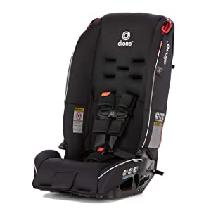Diono 2019Radian 3R All-in-One Convertible Car Seat, Black