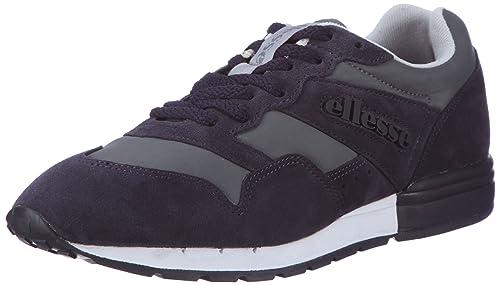Marathon NS EHOUR210NS - Zapatillas de ante unisex, color gris, talla 41 Ellesse