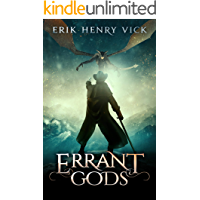 Errant Gods: A Dark Fantasy Novel (Blood of the Isir Book 1) book cover