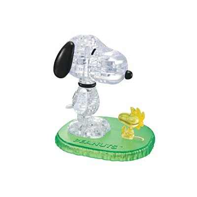 3D Crystal Puzzle Snoopy and Woodstock: Game: Toys & Games