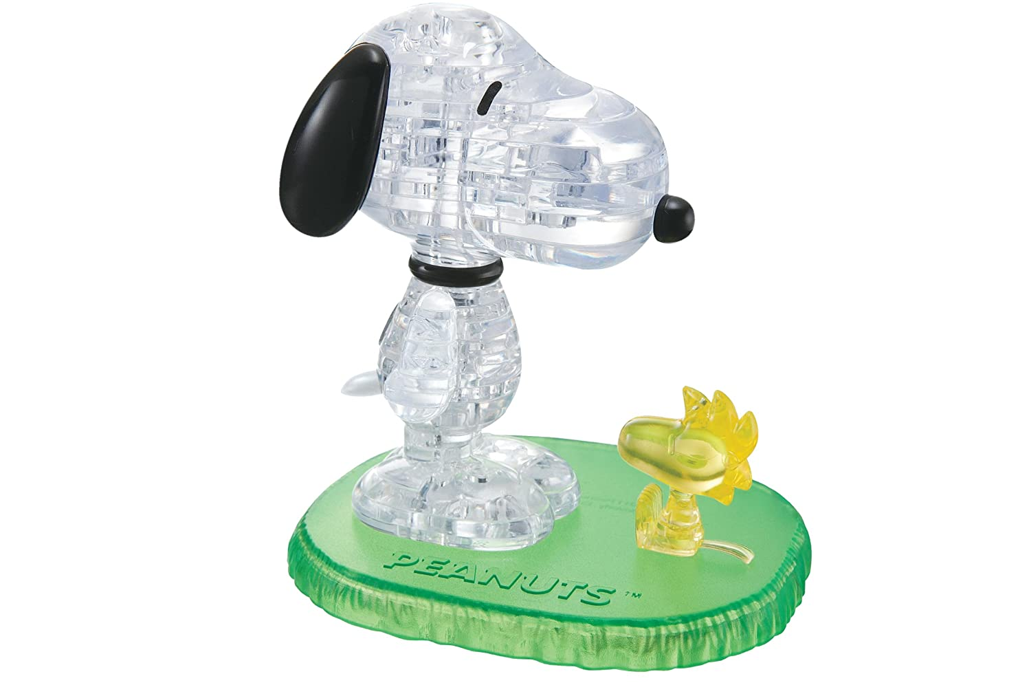 Crystal Puzzle - Snoopy And Woodstock Rejects from Studios University Games 30991