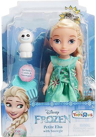 Disney Princess Petite Elsa 6 Muñeca con muñeco de nieve – Nuevo para 2016