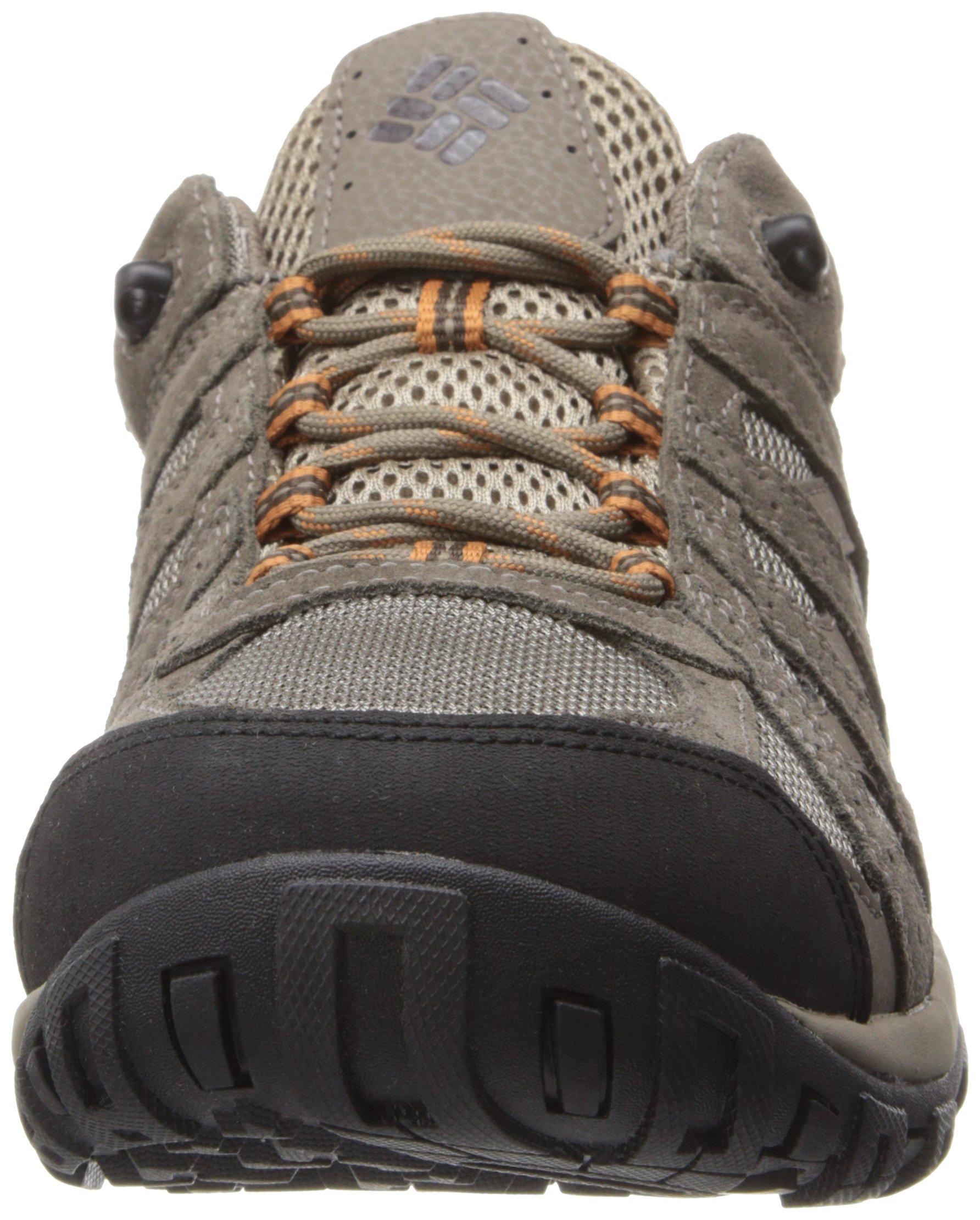 Columbia Men's Redmond Waterproof Hiking Shoe Pebble, Dark Ginger 7 D US by Columbia (Image #4)