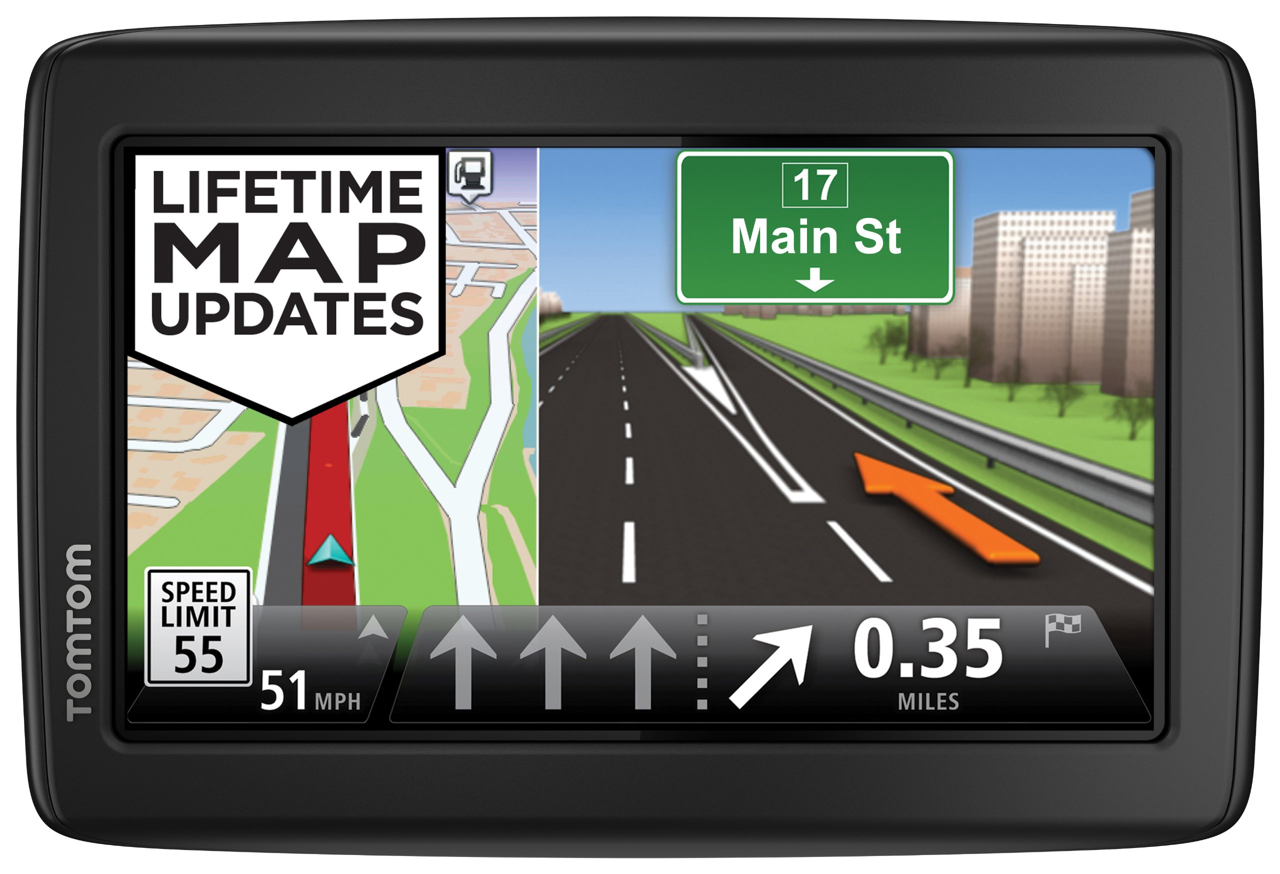 TomTom Incorporated 1EN5.019.13 TomTom VIA 1505M World Traveler Edition 5-Inch Portable Touchscreen Car GPS Navigation Device - Lifetime US, Canada, Mexico, and Europe Maps by TomTom