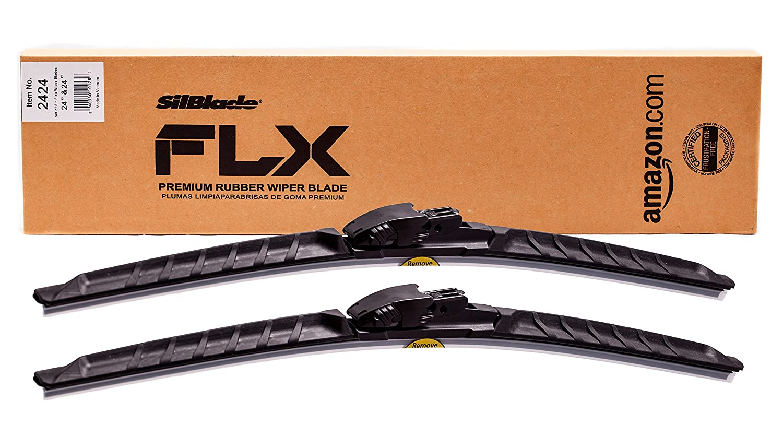 SilBlade FLX 2424 Premium Beam Wiper Blade Set - 24