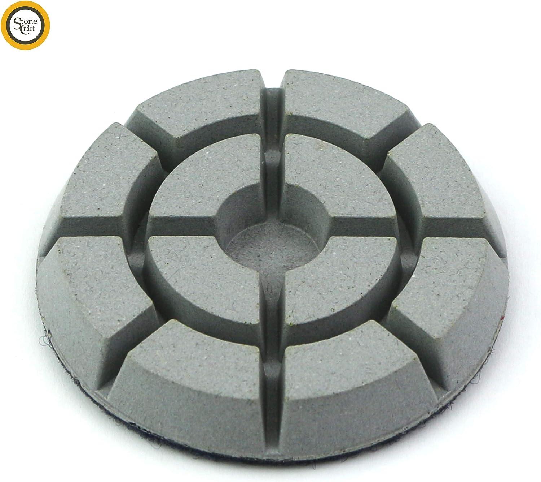 Pierre Granite Marbre Stonecraft Disques Diamant/és de Polissage pour machine de sols 80 mm Grain 50 pour B/éton Grain 400
