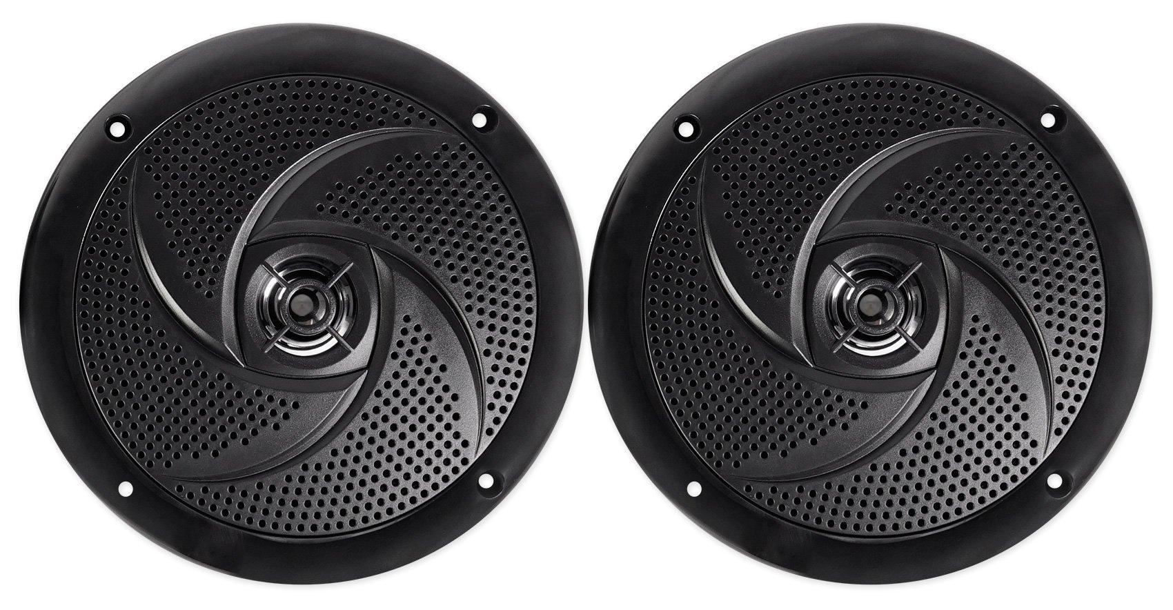 2 Rockville RSM65B 6.5'' 320w Waterproof Shallow Slim Speakers 4 RZR/ATV/UTV/Cart by Rockville (Image #2)