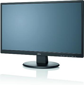 Fujitsu Display E24t 7 Pro Led Eu Cable Line 60 5 Cm 23 8zoll 16 9 Wide Screen Vga Dvi Hdmi Speakers Matt Black Led Backlit