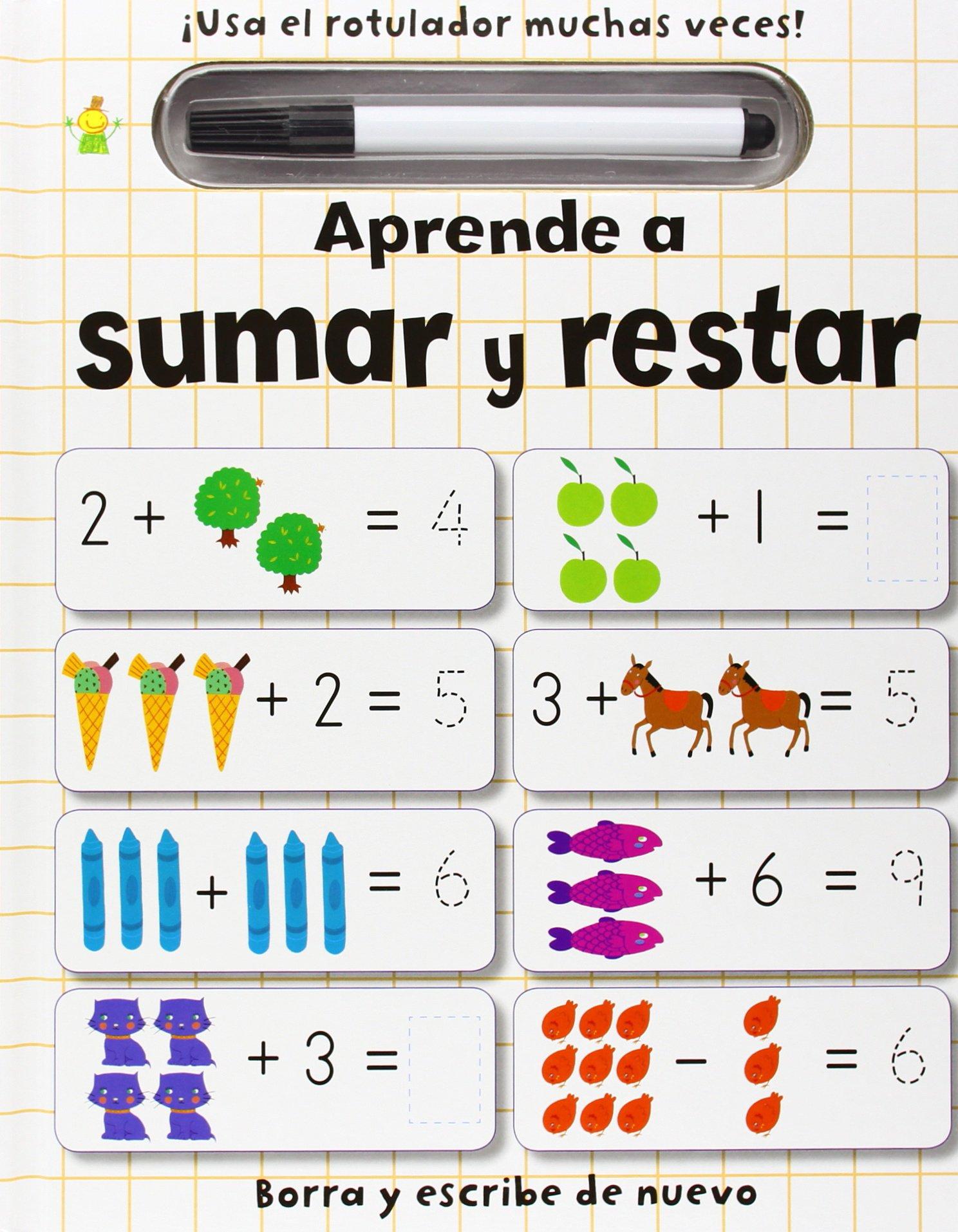 Aprende a sumar y restar: VV.AA.: 9788415807278: Amazon.com ...