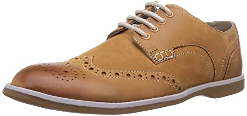 c239be71 Clarks Farli Limit - Zapatos de cordones para hombre, Tan Leather, 41:  Amazon.es: Zapatos y complementos