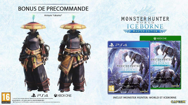 Monster Hunter World: Iceborne - Master Steelbook Edition ...