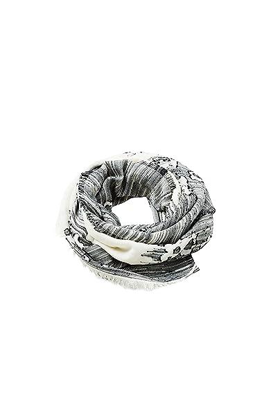 Esprit Accessoires 078ea1q009, Echarpe Femme, Blanc (Off White 110) Unique  (Taille 1a33389bf06