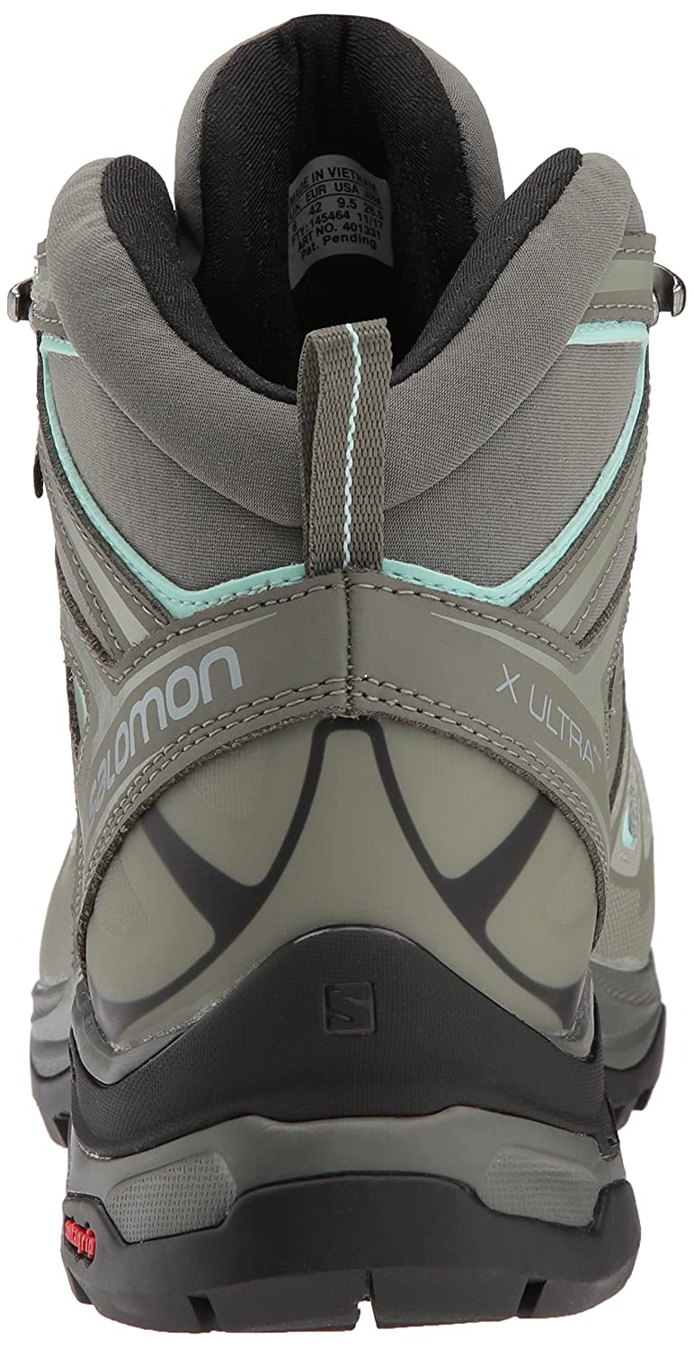 Salomon Women's X Ultra 3 Wide Mid GTX Hiking Shoes B073JZL2J3 8.5 M US|Shadow