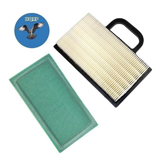 HQRP - Cartucho de filtro de aire w/pre-cleaner para ...