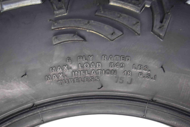 MASSFX ATV TIRE 26X9-14 Single Front ATV Tire Durable Dual Compound 6Ply 26X9x14