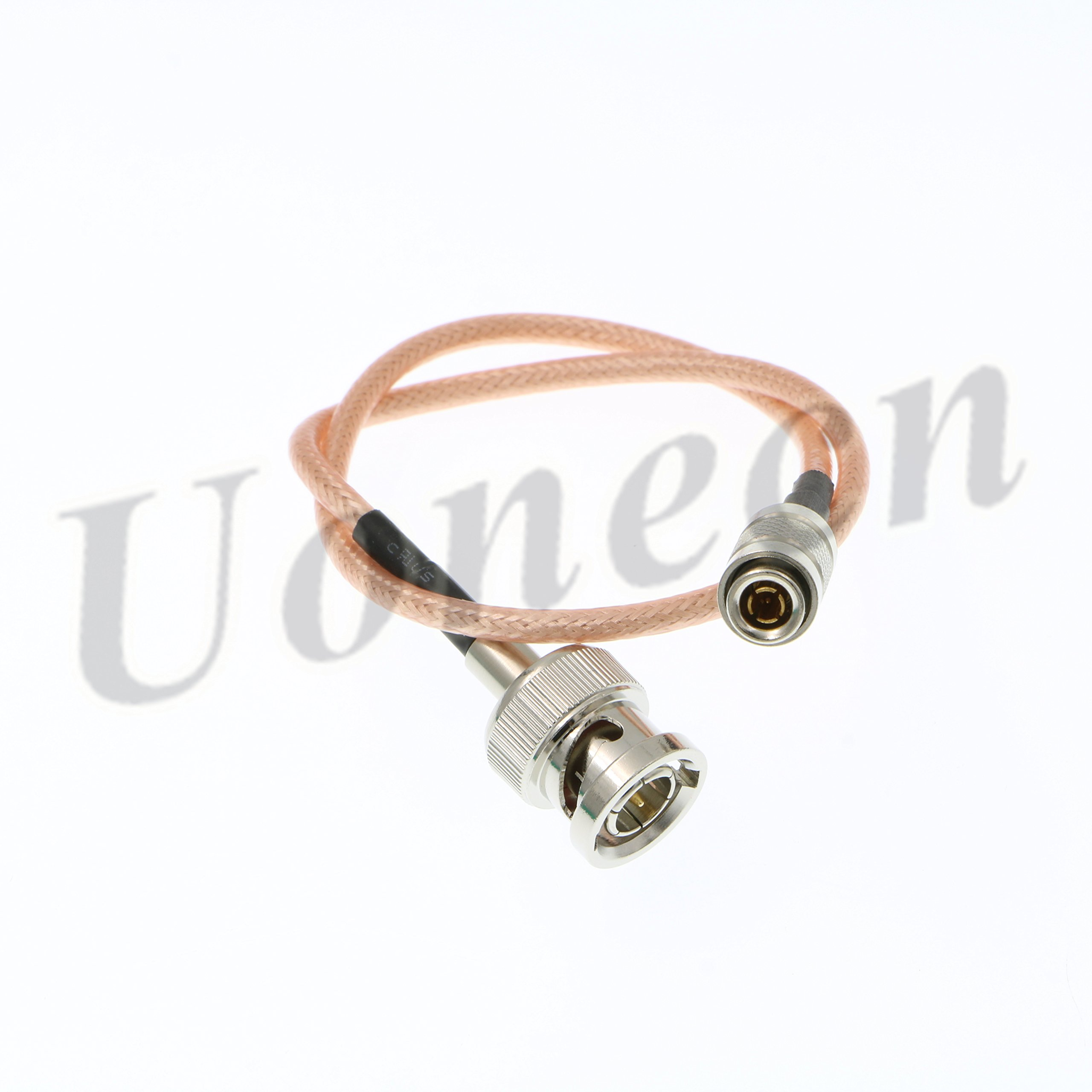 Uonecn DIN 1.0/2.3 Mini BNC to HD SDI BNC RG179 75ohm RF Coaxial Cable Video Cable for Blackmagic HyperDeck Shuttle