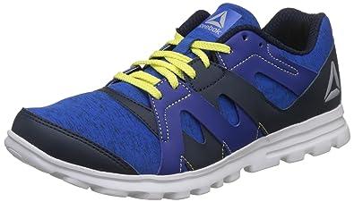 f7604feebd191f Reebok Men s Electro Run Xtreme Blue Navy Cobalt Green Running Shoes ...