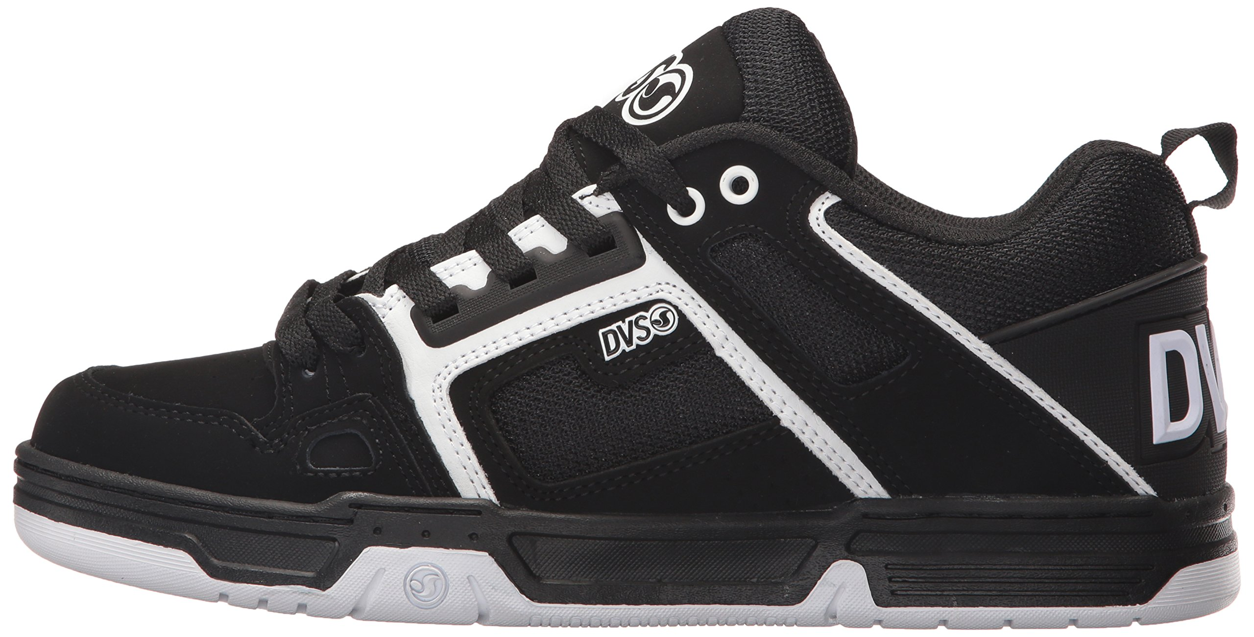 DVS Men's Comanche Skate Shoe, Black/White Nubuck, 12 Medium US by DVS (Image #5)