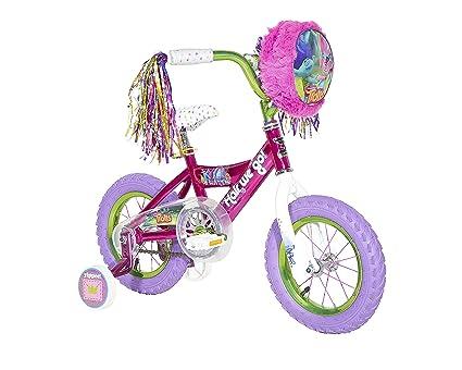 b3ea6878866a Amazon.com   Trolls 12 Inch Girls  Bike   Sports   Outdoors