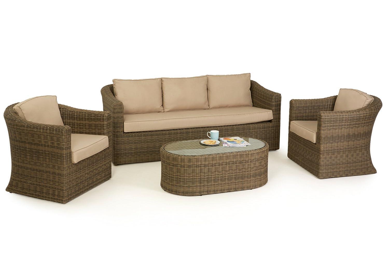 Winchester - Muebles de jardín de 3 plazas sofá - Juego de laberinto ...
