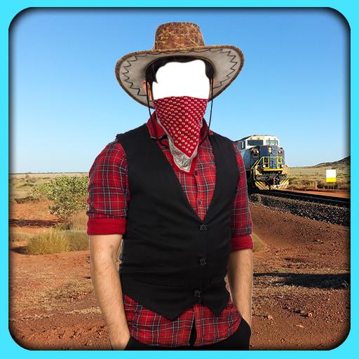 Cowboy Photo Montage (Horse Chaps)