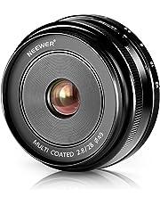 Neewer–28mm f/2,8Prime de Enfoque Manual Objetivo Fijo para olmpus y Panasonic Cámaras Digitales APS-C