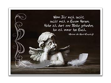 10 Stück Trauer Kondolenz Beileids Anteilnahme Gruß Klapp Karte Mit