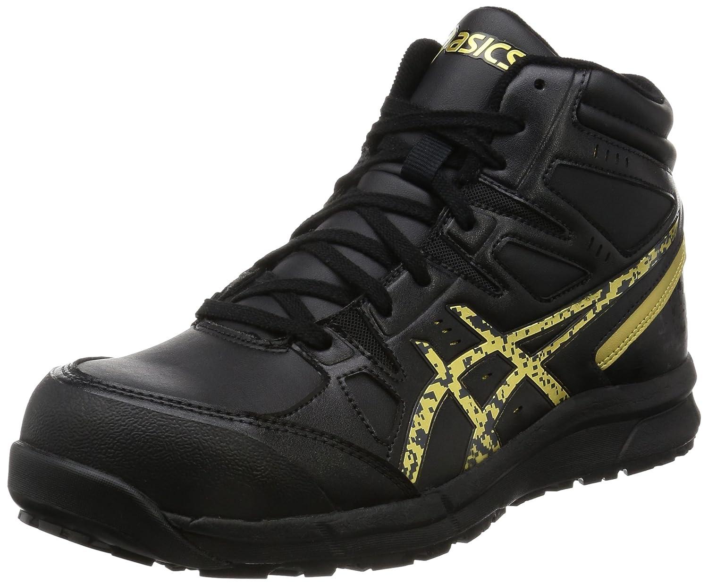 [アシックスワーキング] 安全靴/作業靴 B01N4R72UX 25.0 cm|ブラック/ゴールド ブラック/ゴールド 25.0 cm
