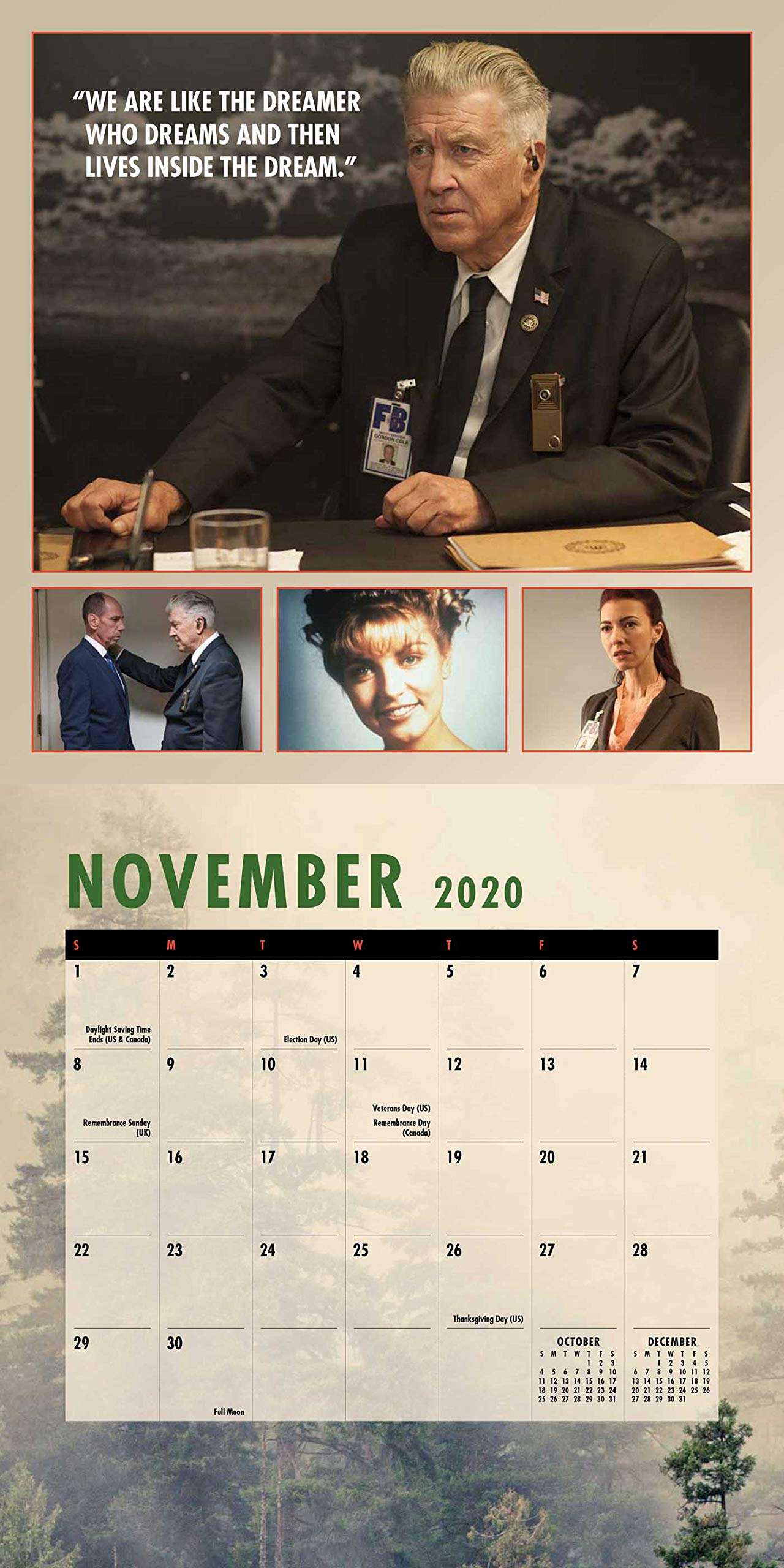 Amazon.com: Twin Peaks 2020 Wall Calendar (0676728036418