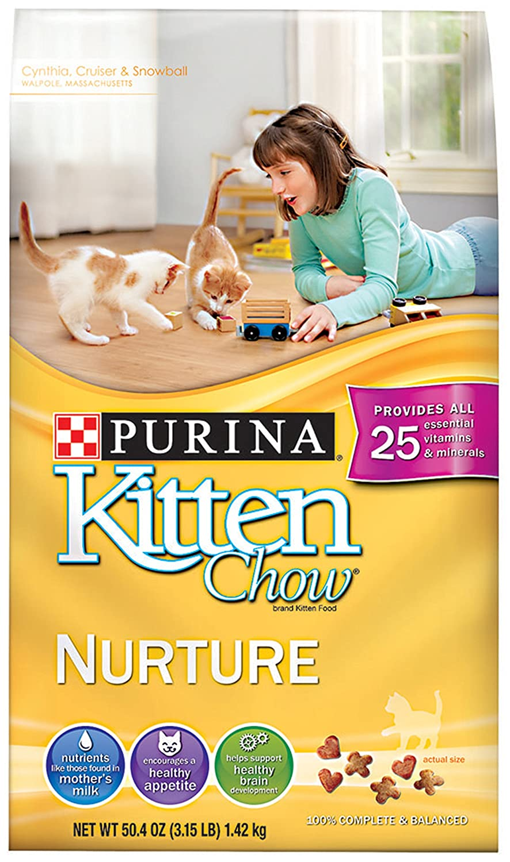 Purina Kitten Chow, 3.15-Pound
