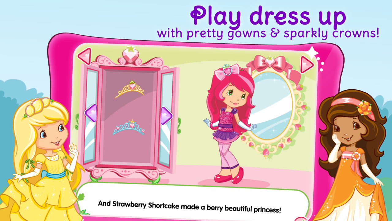 amazon com strawberry shortcake berryfest princess appstore for