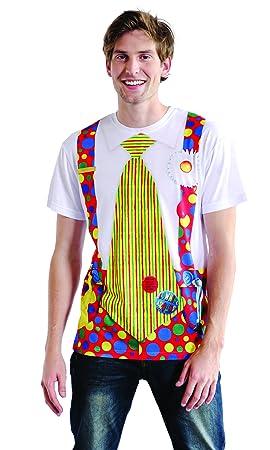 Boland 84225 - trajes de payaso Camisa fotorrealistas para ...
