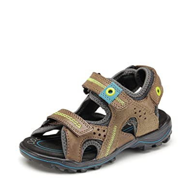 d1f1a1a4b83d ECCO URBAN SAFARI KIDS Sandals Boys Brown  Amazon.co.uk  Shoes   Bags