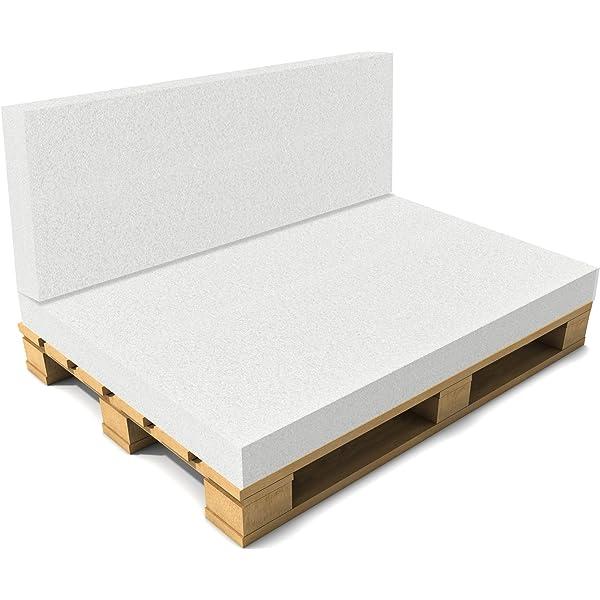 neu.haus]® Cojín sin funda para sofá de europalés - 120 x 80 ...