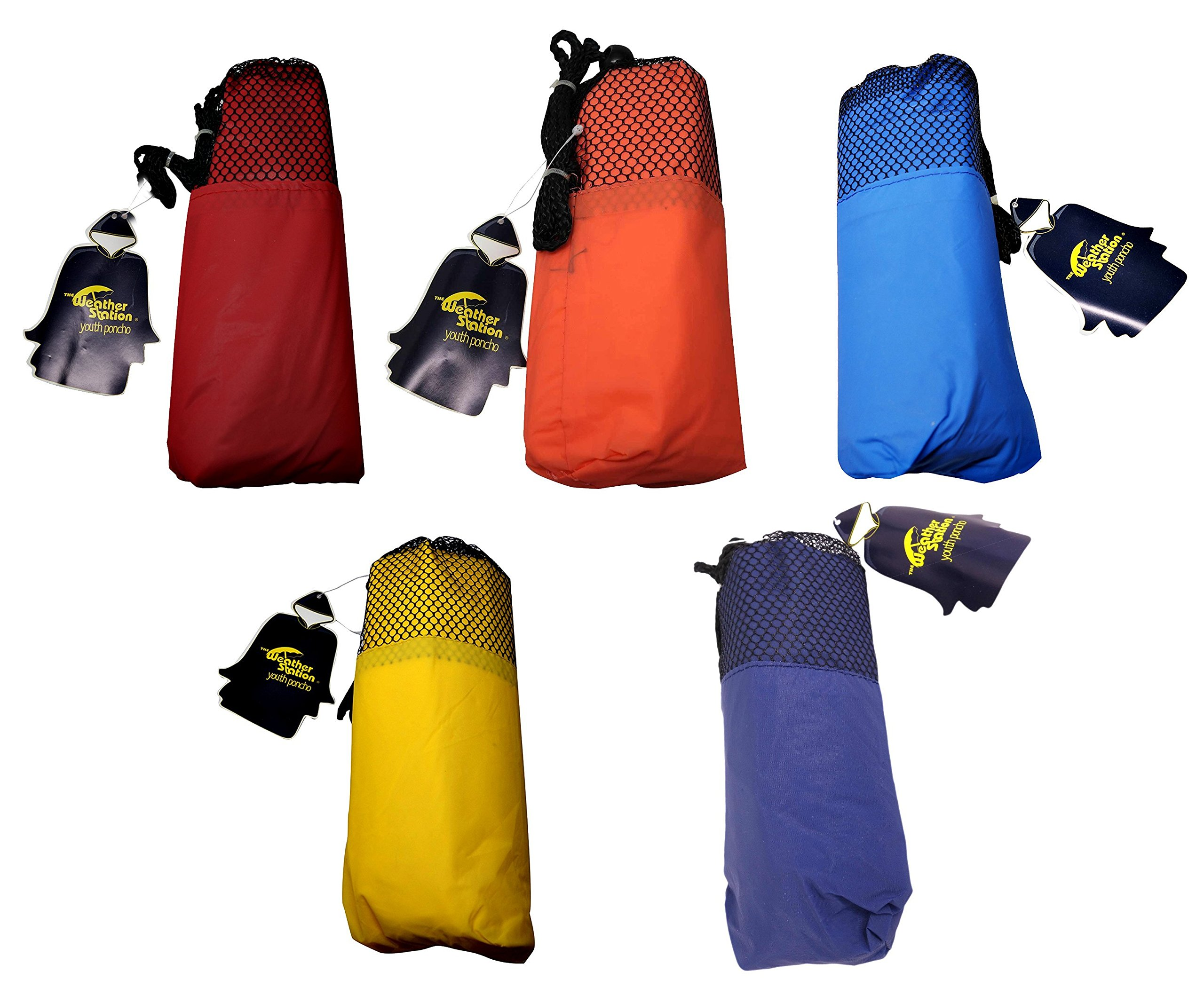 The Weather Station Children's Emergency Rain Poncho with Snaps, 45 x 72 inches by The Weather Station