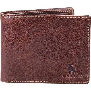HIDE   SKIN RFID Blocking Men Leather Wallet  8 Card Slot