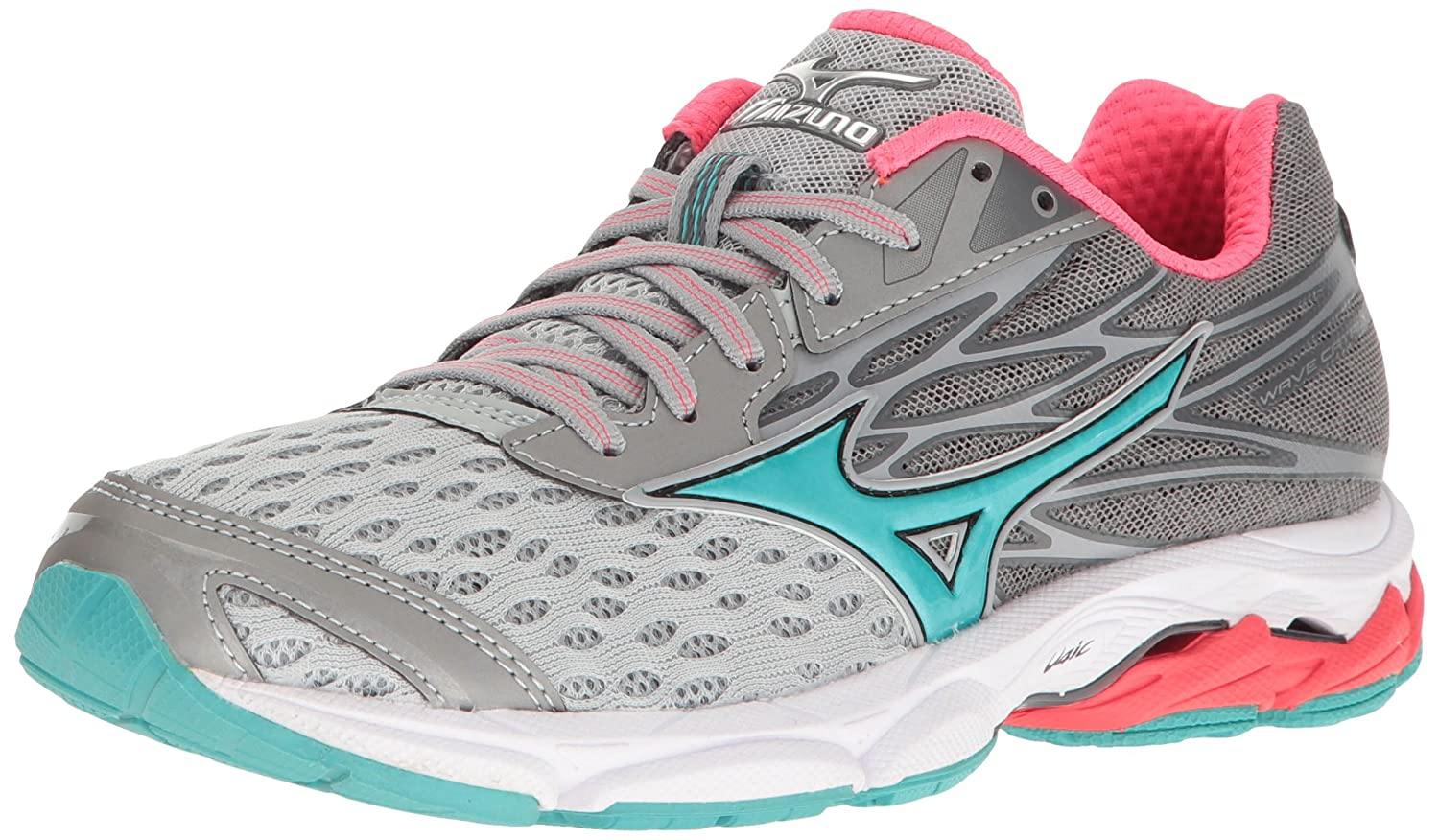 Mizuno Women's Wave Catalyst 2 Running Shoe B01H3EG2X4 6 B(M) US|Grey/Mint