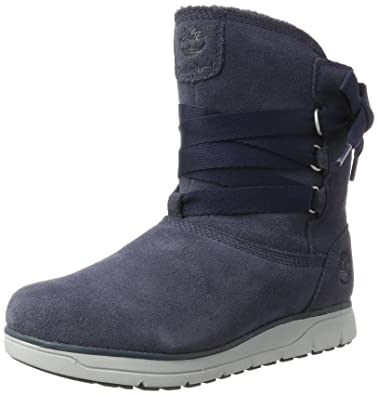 Leighland Pull-on Waterproof, Bottes Femme, Bleu (Outerspace), 39.5 EUTimberland
