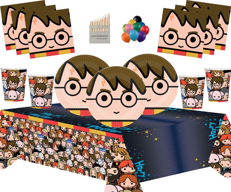 Artículos de Fiesta de Harry Potter Platos de Papel Vasos ...