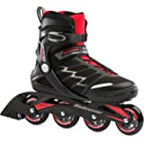 Bladerunner by Rollerblade Advantage Pro XT Men's Adult Fitness Inline Skate, Black and Red, Inline Skates