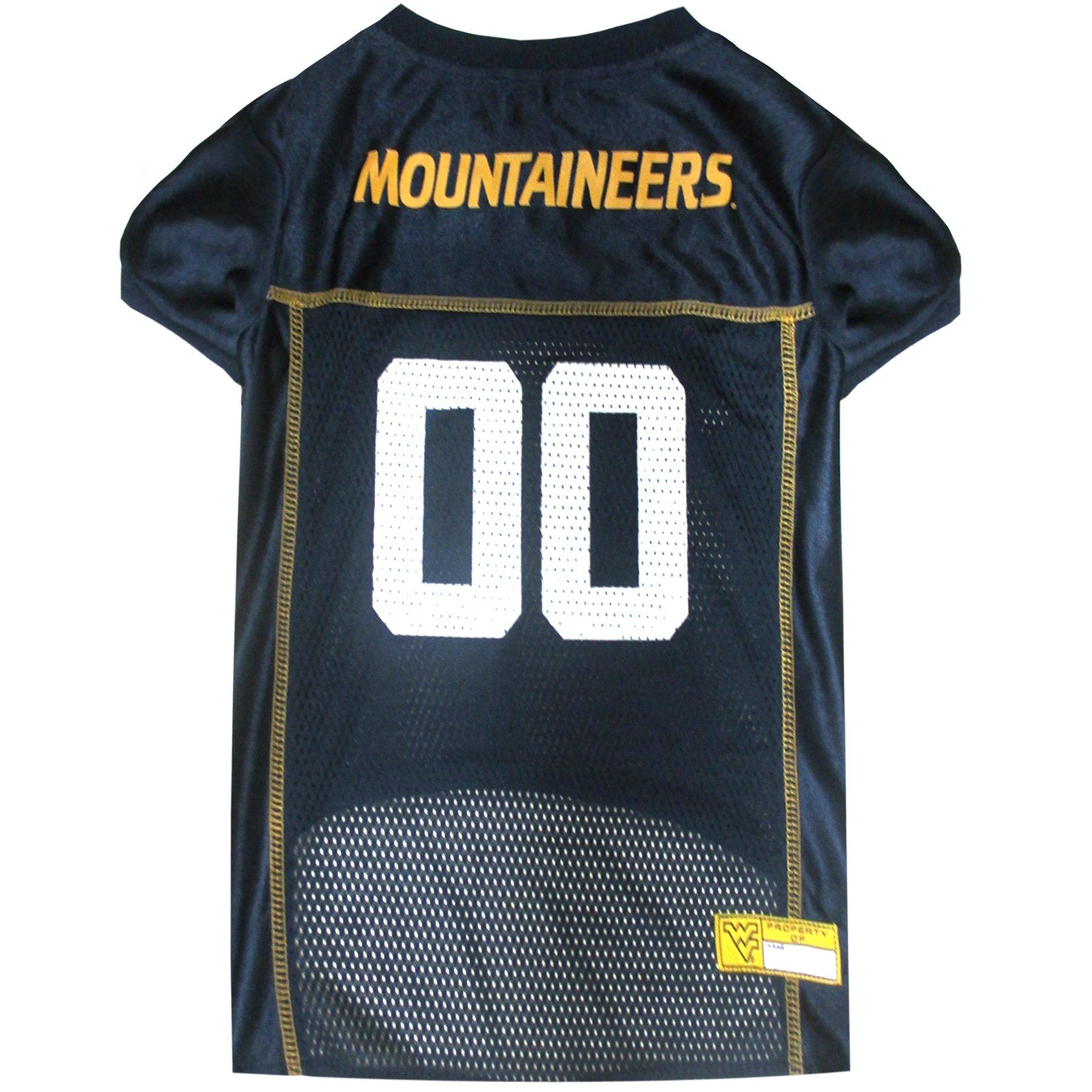 a6d579e91 Amazon.com  NCAA WEST VIRGINIA UNIVERSITY MOUNTAINEERS DOG Jersey ...