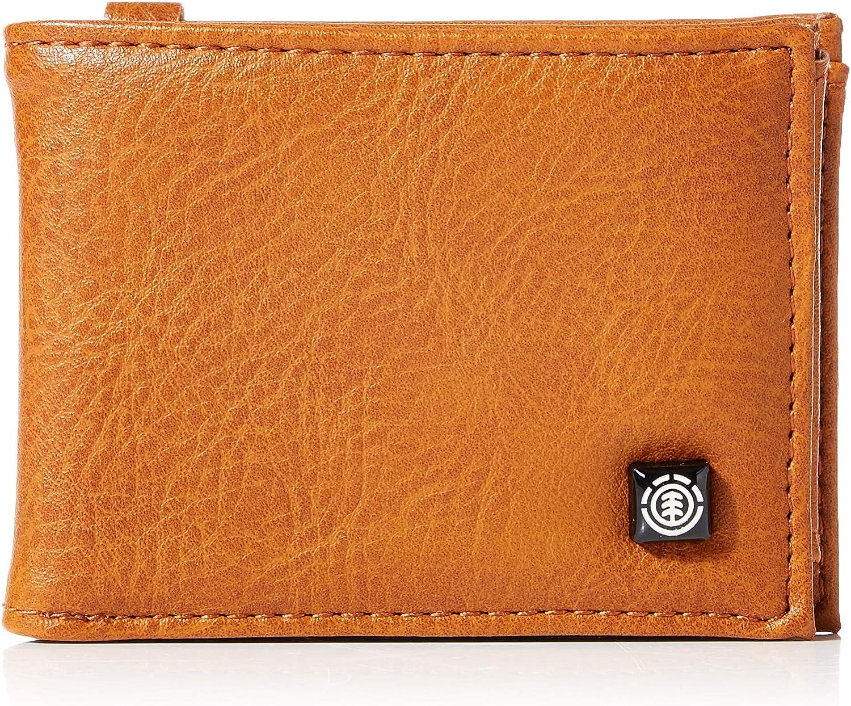 Element Segur Wallet, Hombre, rust brown, U